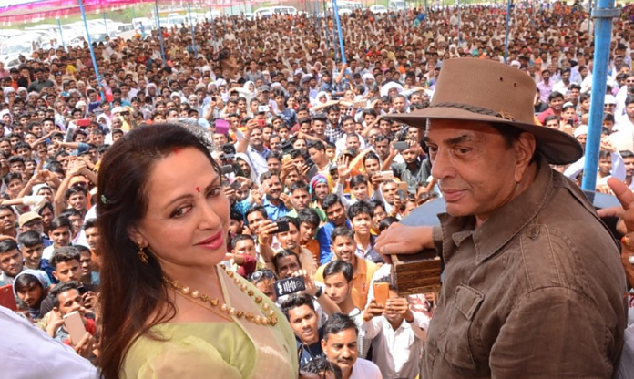 Dharmendra Campaigning For Hema Malini Took Us Back To The