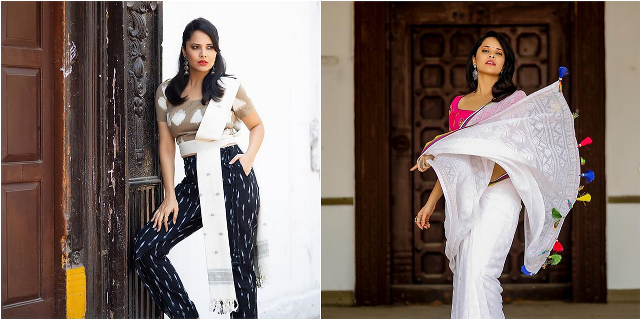 9 Times Anasuya Bharadwaj Gave Us Major Fashion Goals