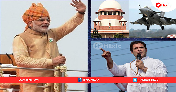 Rafale Deal: SC Gives Clean Chit To Modi Govt And Refuses To Intervene